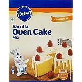 Pillsbury Vanilla Oven Cake Mix, 225g