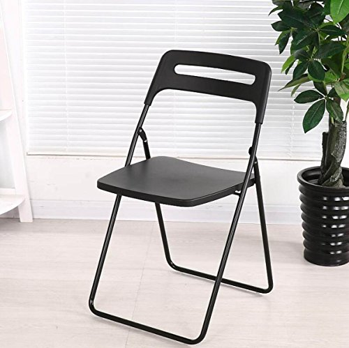 GEXING Chaise Pliante/Home Chaise Pliante/Computer Leisure Chair/Chaise De Bureau Simple/Chaises en Plastique,G-40 * 40 * 78cm