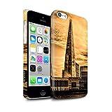 eSwish Clipser Brillant Coque de Coque pour Apple iPhone 5C / Shard Paysage Ville...