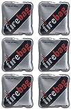 firebag Handwärmer Taschenwärmer: 6er-Set Taschenwärmer warme Hände, wiederverwendbar (Handwärmer-Kissen)