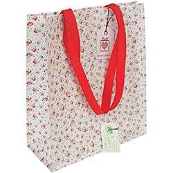 Wiederverwendbare, umweltfreundliche Einkaufstaschen–in verschiedenen Blumendesigns verfügbar. dotcomgiftshop La Petite Rose