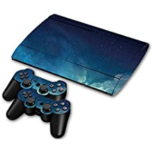 Laixing Skin Vinyl Decal Cover para Playstation 3 PS3 Super Slim CECH-4000