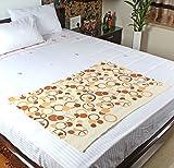 #10: MOSGARD- Mosquito Repellent Blanket (Geometric Cream-S)