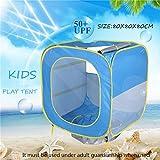 TianranRTCarpa Interior Para Niños Casa de Juegos Plegable Al Aire Libre Para Bebés Y Niños (De Color)