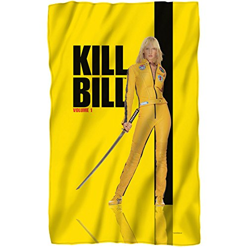 Kill Bill Poster Lightweight Fleece Blanket Standard
