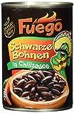 Fuego Schwarze Bohnen in Chilisauce, 6er Pack (6 x 400 g)