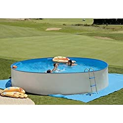 Kit piscine hors-sol acier PROMO ronde 3.50m x 0.90m TOI 8862