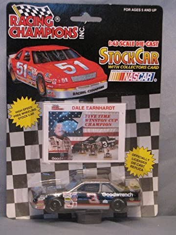 Racing Champions 1:43 stock Car Nascar Dale Earnhardt 1992 by Racing Champions