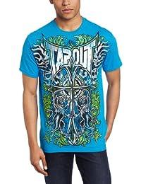Tapout T-Shirt Dark Cross in Blau