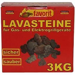 Favorit Pierre de Lave Barbecue gaz 3kg 3050