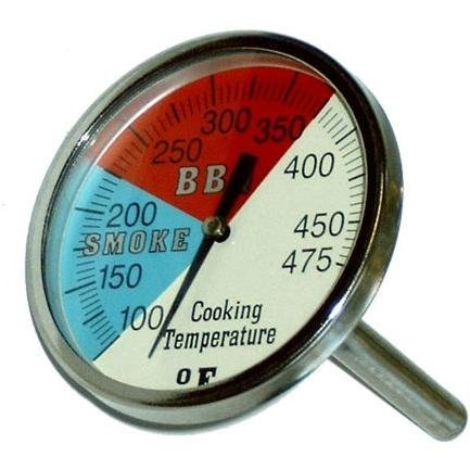 2 Inch Oven, BBQ, Grill, Smoker Thermometer 38-245 Degrees Celsius