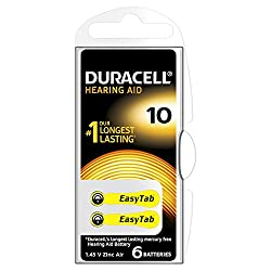 Duracell Size 10 Hearing Aid Batteries - 6-pack