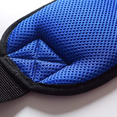51gQjtZZocL - SUPVOX Cinturón de Silla de Ruedas Arnés de Seguridad para Pacientes Discapacidades