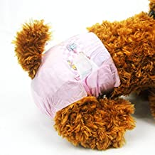 Pañales desechables para mascotas DONO para perros hembra (2018 Súper absorbente y suave, pañales