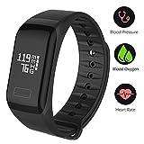 Fitness Tracker,Fitness orologio da polso impermeabile Fitness Tracker HR con frequenza cardiaca/sonno analisi/Contatore di Calorie/Attività Tracker Contapassi/misurazione pressione Sangue e ossigeno - Smart Fitness arm band Android IOS