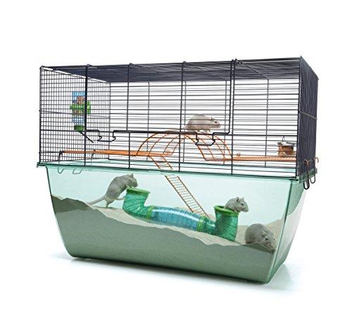 Nobby - Habitat XL / 20519 - Cage pour rongeurs - Bleu - 70 x 37 x 56 cm