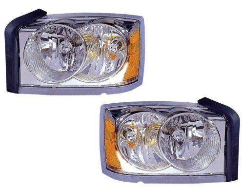 dodge-dakota-replacement-headlight-assembly-chrome-bezel-1-pair-by-autolightsbulbs