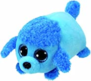 Teeny Tys 42316 2 Inch Stackable Plush - Lexi The Dog - Blue