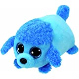 8421423163 Ty Beanie Babies 42316 Teeny Tys Lexi The Blue Poodle