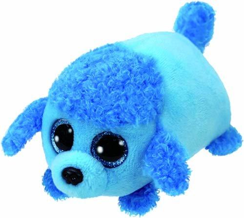 """Teeny Ty Dog Poodle - Lexi - Blue - 8cm 3"""""""