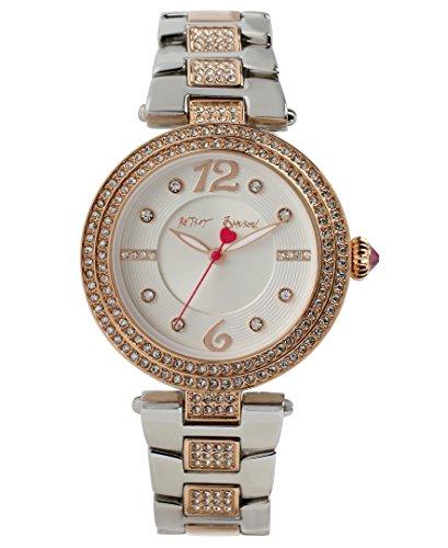 betsey-johnson-bj00451-03-womens-white-dial-two-tone-bracelet-crystal-watch