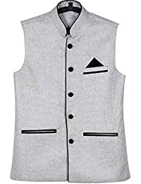 BIS Creations Men's Cotton Nehru Jacket