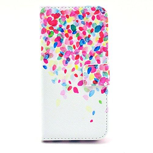 """MOONCASE iPhone 6 Case Motif Conception Coque en Cuir Portefeuille Housse de Protection Étui à rabat Case pour iPhone 6 (4.7"""") P03"""