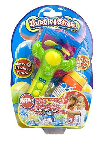 Maro Toys 4694 - Seifenblasenpistole inklusive 59 ml Seifenblasen Flüssigkeit, sortiert