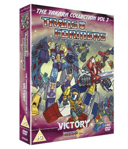 Transformers - Takara - Victory - Animated Box Set (Four Discs) [UK Import] (Transformers Dvd Box Set)