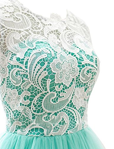 Fanciest -  Vestito  - linea ad a - Donna Verde