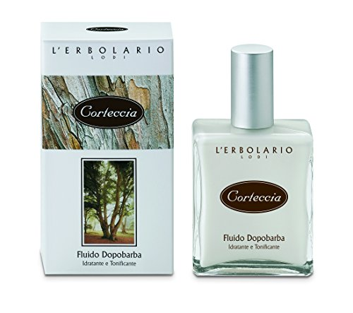 L'Erbolario Baumrinde Aftershave Fluid, 1er Pack (1 x 100 ml)