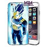 MIM Global Dragon Ball Z Super GT Etuis Coque Case Cover Compatible pour Tous iPhone (iPhone 7 Plus/8 Plus, Perfection)