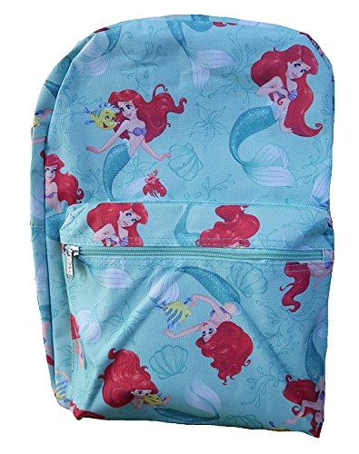 Prinzessin Ariel & Flunder 16 '' IN Rucksack (Little Mermaid Flunder)