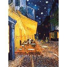 Lámina 'Terraza del café de la Place du Forum en Arlés por la noche, ca. 1888', de Vincent van Gogh, Tamaño: 46 x 61 cm