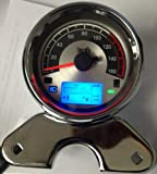 SS185 LCD-Digital-Tachometer-Messgerät Kilometerzähler für Motorrad-Prince