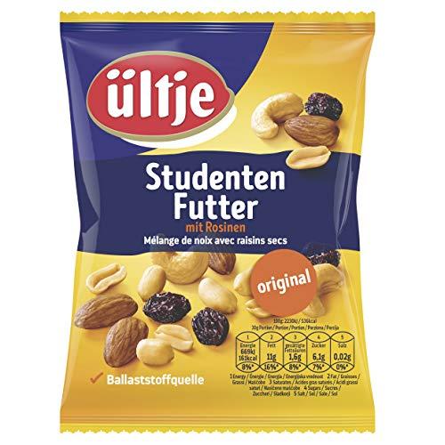 ültje Studentenfutter, original, Nussmix mit Rosinen, 12er Pack (12 x 200 g)