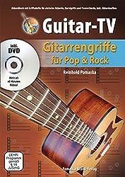 Guitar-TV: Gitarrengriffe für Pop und Rock mit DVD: Akkordbuch mit Grifftabelle für einfache Akkorde, Barrégriffe und Powerchords, inkl. Akkordaufbau