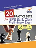 #5: 20 Practice Sets for IBPS Bank Clerk Preliminary Exam - 16 in Book + 4 Online Tests