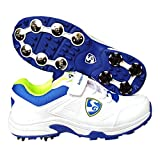 #9: SG Seamer Cricket Shoes with Full Metal Spikes