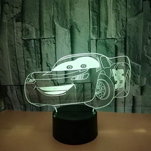 3D Lampe Geschenke Indischer Elefantenkopf 3D Nachtlicht Spielzeug, 7 Farbwechsel mit Fernbedienung oder Touch, Besten Geschenke für Kinder