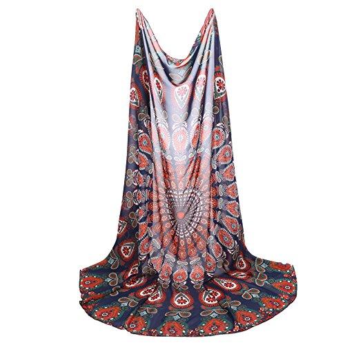 Cravog Damen Bikini Boho Sommer Kleid Wolldecke Duschtuch Reisetuch Strandtuch