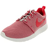 Nike Rosherun Women Laufschuhe red violet-green abyss-wolf grey-white - 39