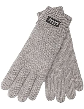 EEM Damen Strickhandschuh JETTE mit Thinsulate™ Thermofutter, warm, 100% Wolle, Winterhandschuh