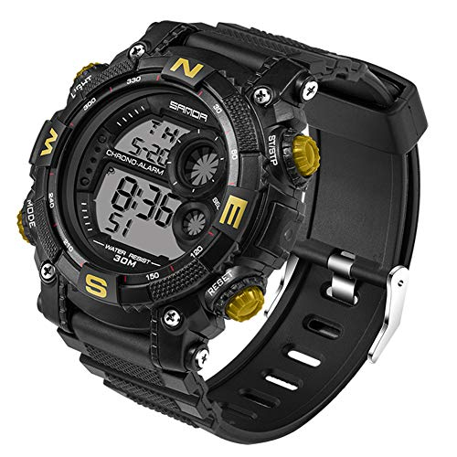 Impermeable Deportivo Relojes/Cronógrafo /Luz LED/Fecha /Reloj Ajusta
