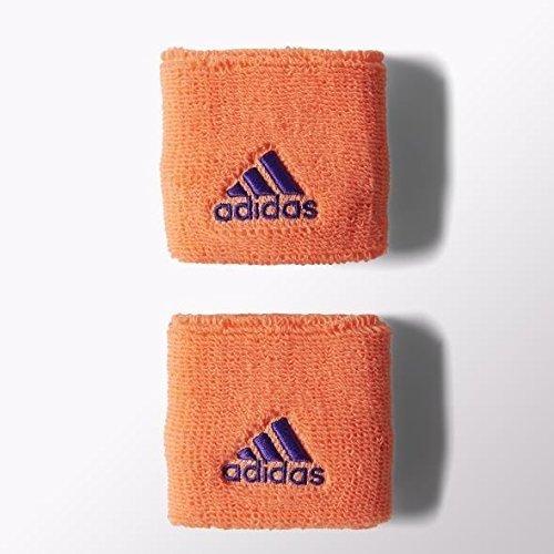 Adidas da uomo dieci WB S Wrist Band, Orange, Adulto