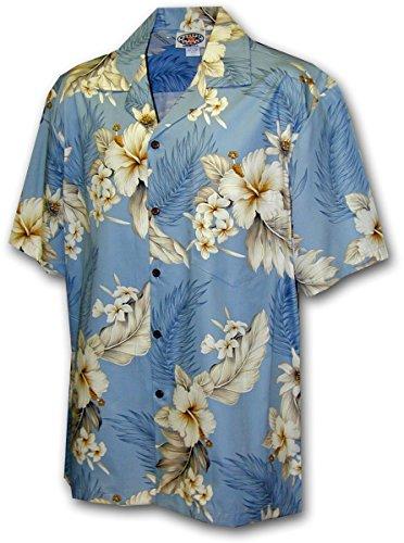 PLA-Original-Camisa-Hawaiana-Gentian-azul-claro-2XL