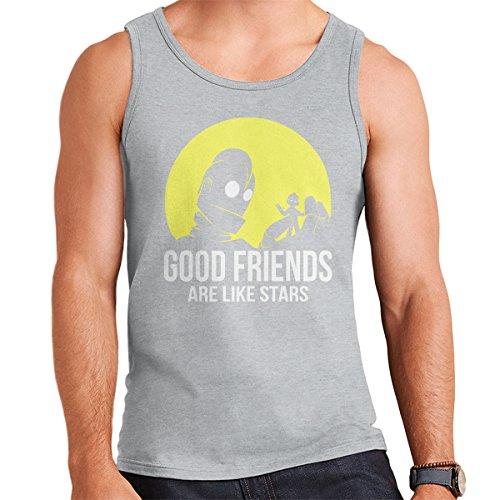 Good Friends Iron Giant Men's Vest Heather Grey