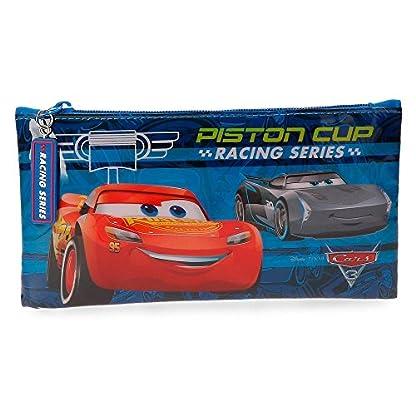 Disney Racing Series Neceser de viaje, 22 cm, 0.13 litros, Azul
