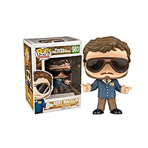 Funko Pop Bert Maklin (Parks & Recreation 503) Funko Pop Parks & Recreation