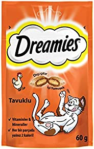 Dreamies Cat Treats, Chicken, 60 gm